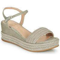 Schuhe Damen Sandalen / Sandaletten Unisa KATIA Beige