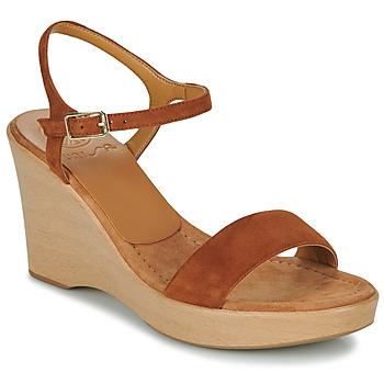 Schuhe Damen Sandalen / Sandaletten Unisa RITA Braun