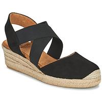 Schuhe Damen Sandalen / Sandaletten Unisa CELE Schwarz