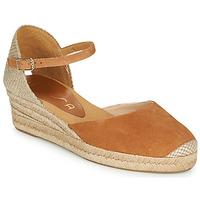Schuhe Damen Sandalen / Sandaletten Unisa CISCA Camel