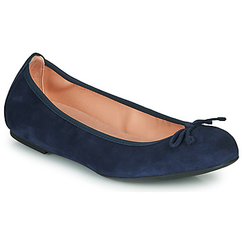 Schuhe Damen Ballerinas Unisa ACOR Marine
