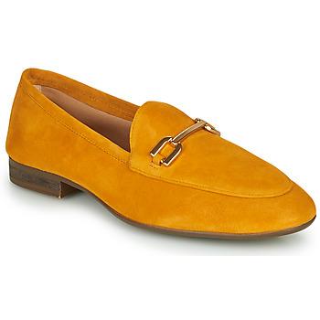 Schuhe Damen Slipper Unisa DALCY Senf