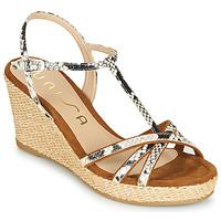 Schuhe Damen Sandalen / Sandaletten Unisa LLINAR Braun