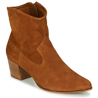 Schuhe Damen Low Boots Unisa GALVEZ Camel