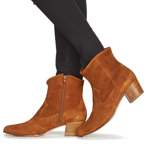 Unisa Galvez Camel - Kostenloser Versand Schuhe Low Boots Damen 83 75usi72c