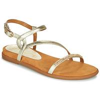 Schuhe Damen Sandalen / Sandaletten Unisa CLARIS Gold