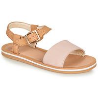 Schuhe Mädchen Sandalen / Sandaletten Clarks SKYLARKHOPE K Rose