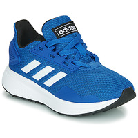 Schuhe Kinder Sneaker Low adidas Originals DURAMO 9 K Blau