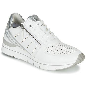 Schuhe Damen Sneaker Low Marco Tozzi 2-23723 Weiss