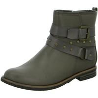 Schuhe Damen Boots Diverse Stiefeletten Schlupf/RV-St.gl.Bod 1003064 grau