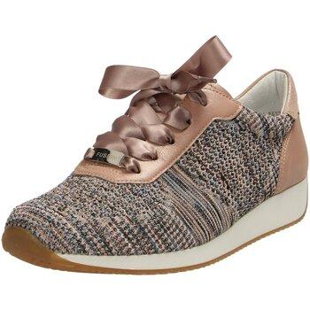 Schuhe Damen Sneaker Low Ara Schnuerschuhe Fusion 4 12-34027-35-fusion4 beige
