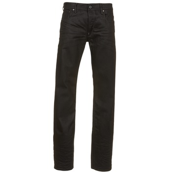 Kleidung Herren Straight Leg Jeans G-Star Raw ATTAC STRAIGHT Schwarz