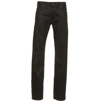 Kleidung Herren Straight Leg Jeans G-Star Raw ATTAC STRAIGHT Schwarz