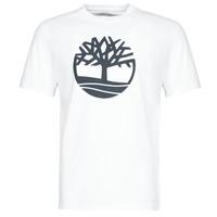Kleidung Herren T-Shirts Timberland SS KENNEBEC RIVER BRAND TREE TEE Weiss