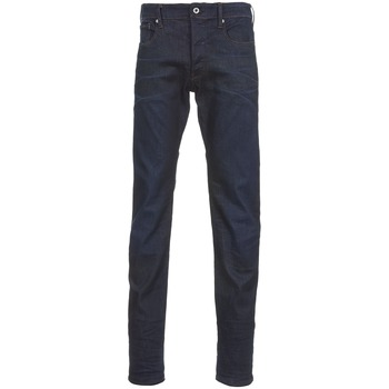 Kleidung Herren Straight Leg Jeans G-Star Raw 3301 TAPERED Paillettenschwarz