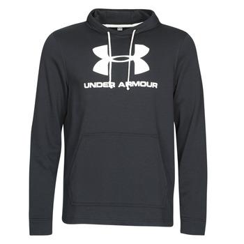 Kleidung Herren Sweatshirts Under Armour SPORTSTYLE TERRY LOGO HOODIE Schwarz