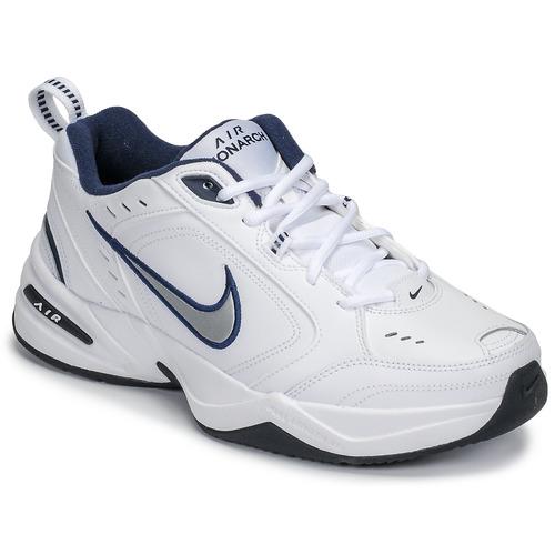 Schuhe Herren Sneaker Low Nike AIR MONARCH IV Weiss / Grau