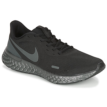 Schuhe Herren Laufschuhe Nike REVOLUTION 5 Schwarz