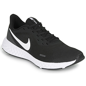 Schuhe Herren Multisportschuhe Nike REVOLUTION 5 Schwarz / Weiss