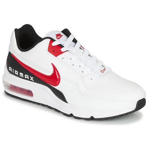 Schuhe Herren Sneaker Low Nike AIR MAX LTD 3 Weiss / Schwarz / Rot