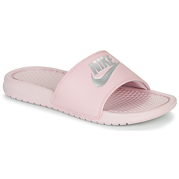Schuhe Damen Pantoletten Nike BENASSI JUST DO IT Rose