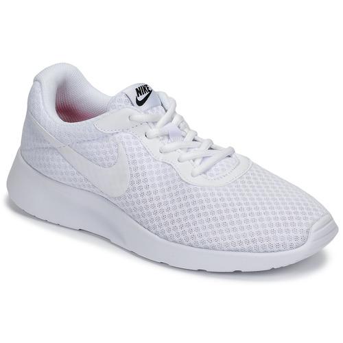 Schuhe Damen Sneaker Low Nike TANJUN Weiss