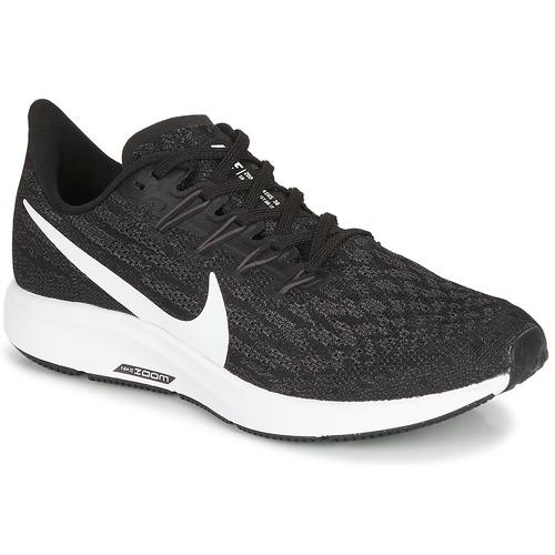 Schuhe Damen Laufschuhe Nike ZOOM PEGASUS 36 Schwarz / Weiss