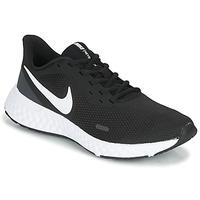 Schuhe Damen Multisportschuhe Nike REVOLUTION 5 Schwarz / Weiss