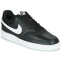 Schuhe Damen Sneaker Low Nike COURT VISION LOW Schwarz / Weiss