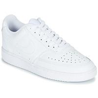 Schuhe Damen Sneaker Low Nike COURT VISION LOW Weiss