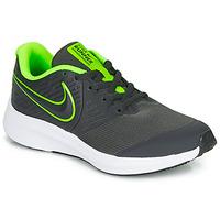 Schuhe Jungen Multisportschuhe Nike STAR RUNNER 2 GS Schwarz / Grün