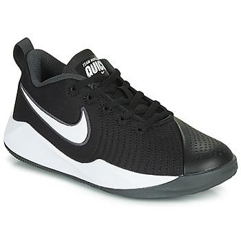 Schuhe Kinder Multisportschuhe Nike TEAM HUSTLE QUICK 2 GS Schwarz / Weiss