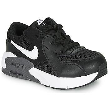 Schuhe Kinder Sneaker Low Nike AIR MAX EXCEE TD Schwarz / Weiss