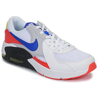 Schuhe Kinder Sneaker Low Nike AIR MAX EXCEE GS Weiss / Blau / Rot