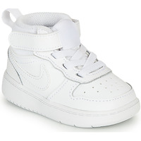Schuhe Kinder Sneaker Low Nike COURT BOROUGH MID 2 TD Weiss