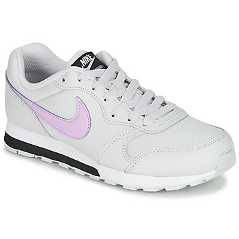 Schuhe Mädchen Sneaker Low Nike MD RUNNER GS Weiss / Rose
