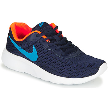 Schuhe Jungen Sneaker Low Nike TANJUN GS Blau