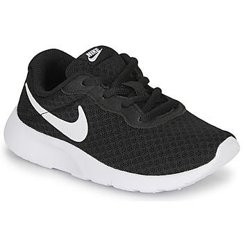 Schuhe Kinder Sneaker Low Nike TANJUN PS Schwarz / Weiss