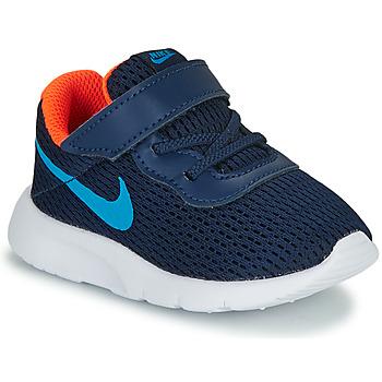 Schuhe Jungen Sneaker Low Nike TANJUN TD Blau
