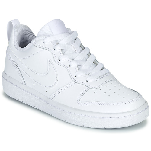 Schuhe Kinder Sneaker Low Nike COURT BOROUGH LOW 2 GS Weiss