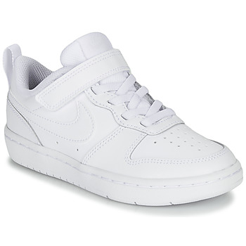 Schuhe Kinder Sneaker Low Nike COURT BOROUGH LOW 2 PS Weiss