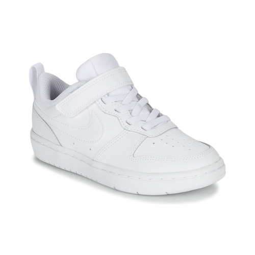 Schuhe Kinder Sneaker Low Nike COURT BOROUGH LOW 2 PS Weiss