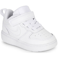 Schuhe Kinder Sneaker Low Nike COURT BOROUGH LOW 2 TD Weiss