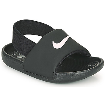 Schuhe Kinder Pantoletten Nike KAWA TD Schwarz