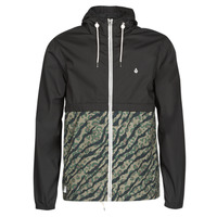 Kleidung Herren Windjacken Volcom HOWARD HOODED Schwarz