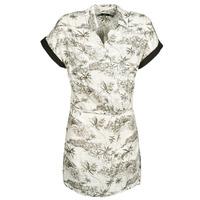 Kleidung Damen Kurze Kleider Volcom VACAY ME SS DRESS Weiss