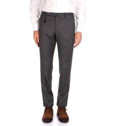 Kleidung Herren Anzughosen Incotex 1AT030 1394T grau
