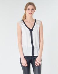 Kleidung Damen Tops / Blusen Naf Naf CORAZON Weiss