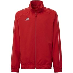 Kleidung Kinder Trainingsjacken adidas Originals Core 18 Präsentationsjacke Rot