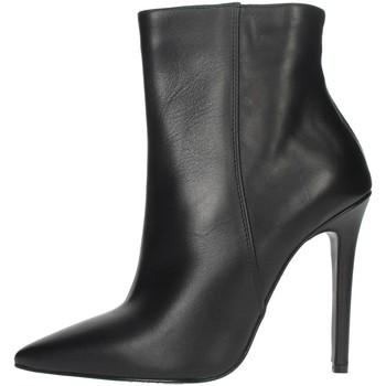Schuhe Damen Low Boots Elena Del Chio 6193 Schwarz